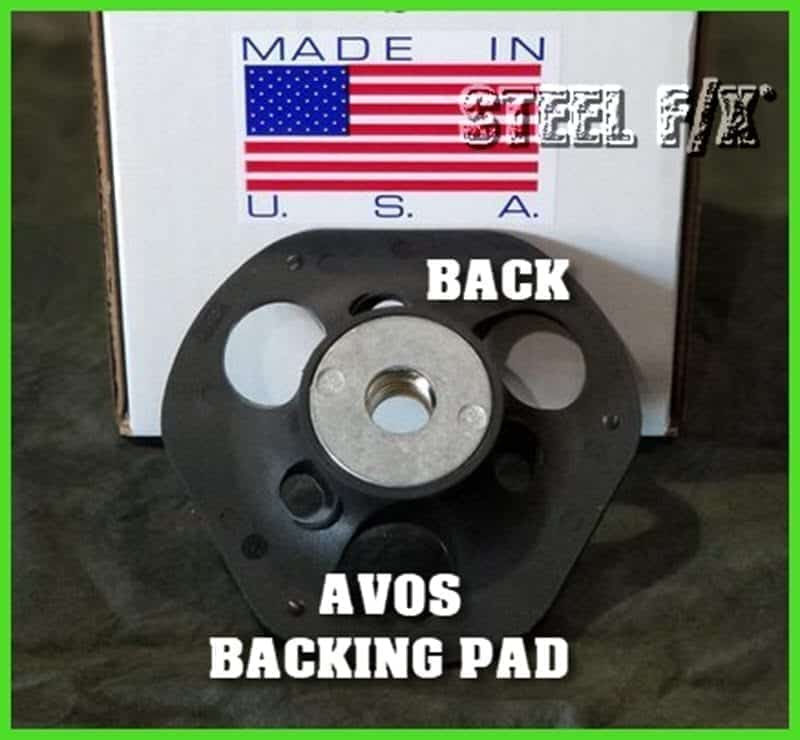 NORTON AVOS GRINDING DISC BACKING PAD