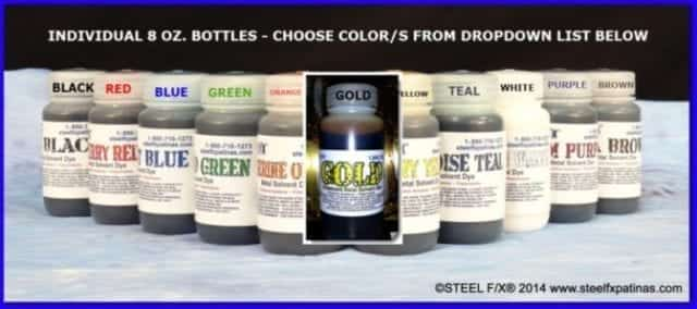 DYES-STAINS FOR METAL