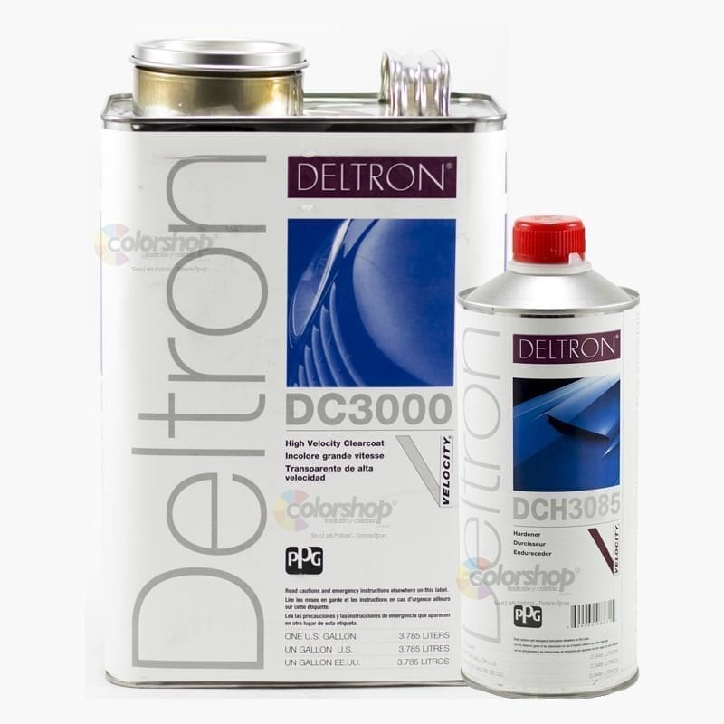 PPG® DELTRON DC-3000 CLEAR-COAT | STEEL F/X PATINAS