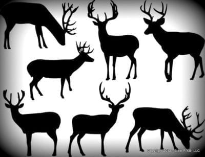 deer_images_for_CNC_plasma_cutting