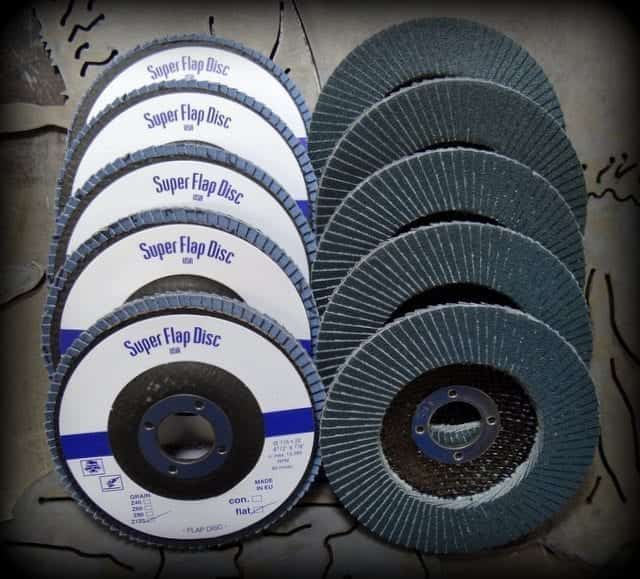FLAP DISCS FOR METAL FINISHING
