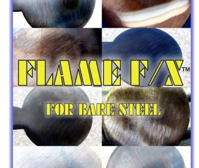 FLAME F/X™ steel patina