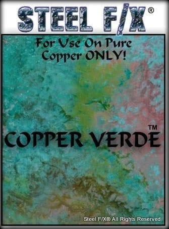 COPPER VERDIGRIS PATINA SOLUTION