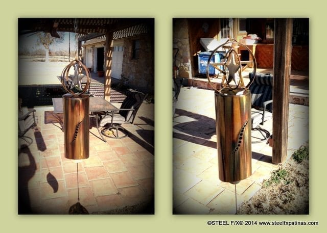 WIND-BELLS by Mike D., Texas 1/14 _ steelfxpatinas.com