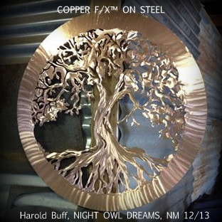 copper patina for steel