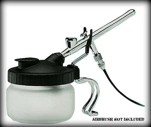 airbrush cleaning station