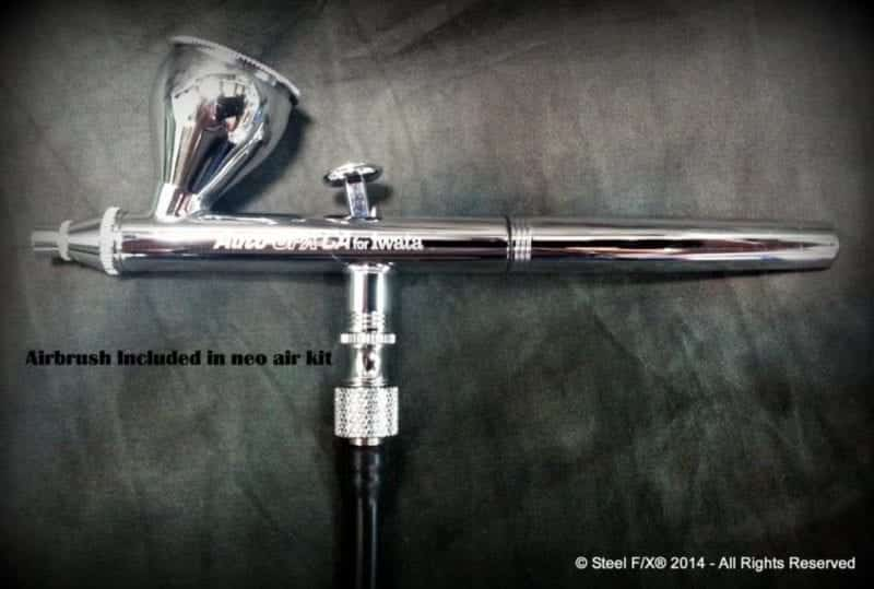 Entry Level Airbrushing System With Compressor 2 Airbrushes