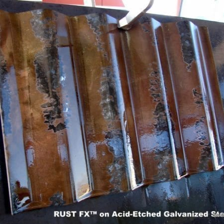 Steel Patinas for Corrugated Galvanized Panels