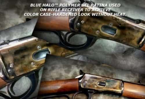 COLOR CASE-HARDENING STEEL PATINA