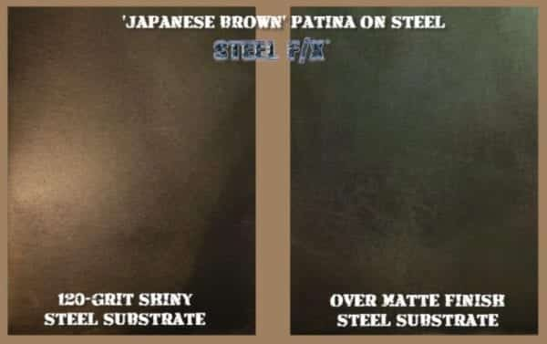 JAPANESE BROWN PATINA FOR STEEL