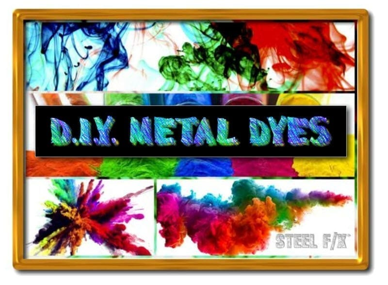 METAL DYE POWDERS_MAKE YOUR OWN DYES