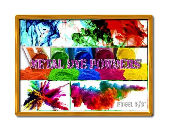 D.I.Y. METAL DYE POWDERS