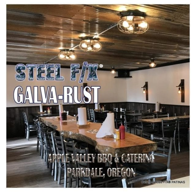 RUST GALVANIZED