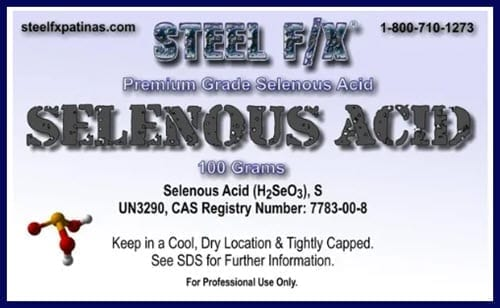 label: selenous acid